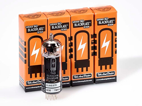 EL84S-STR Blackplate Tubes Premium Matched (Quartett)