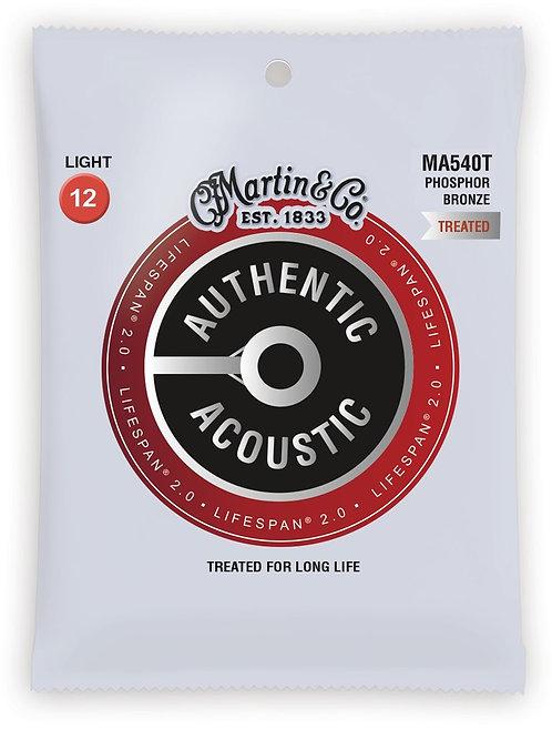Martin LifeSpan 2.0 Phosphor Bronze - Acoustic Guitar - Light (12-54)