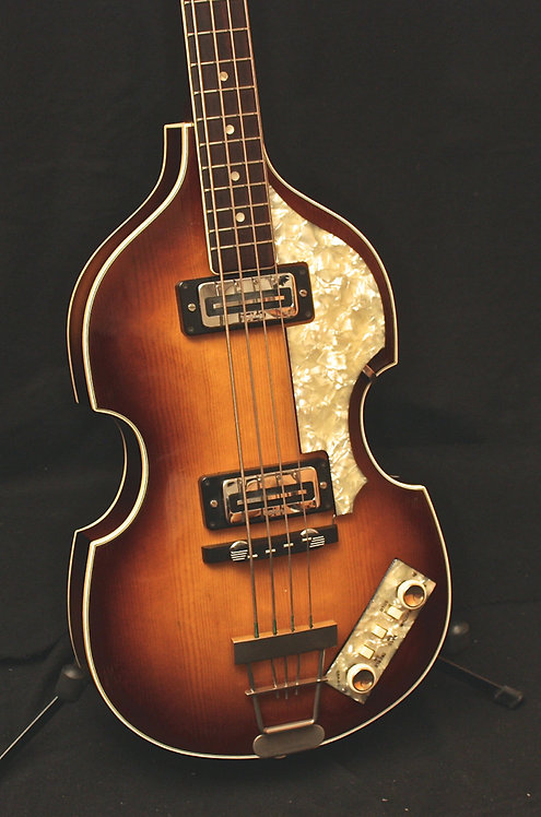 HÖFNER VIOLIN BASS 500/1 - Germany 1967