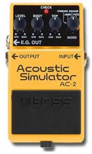 Boss AC-2 Acoustic Simulator - NOS