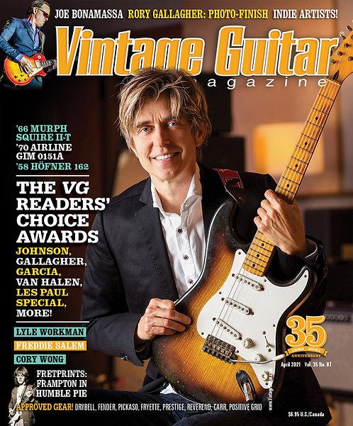 Vintage Guitar Magazin - April 2021