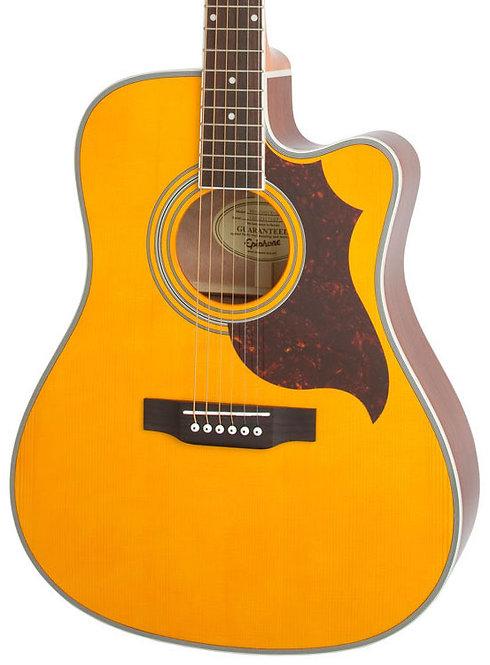 EPIPHONE FT350 - Western Gitarre mit Tonabnehmer