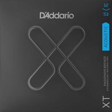D'Addario XT Phosphor Bronze Acoustic Guitar Strings - Regular Light (12-53)