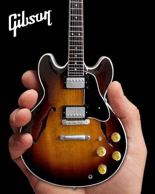 Gibson ES-335 Vintage Sunburst 1:4 Scale Mini Guitar Model