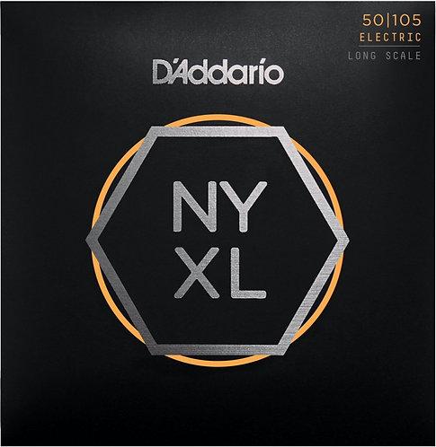 D'Addario NYXL 50105 - Nickel R/W Bass Guitar, Medium (50-105)
