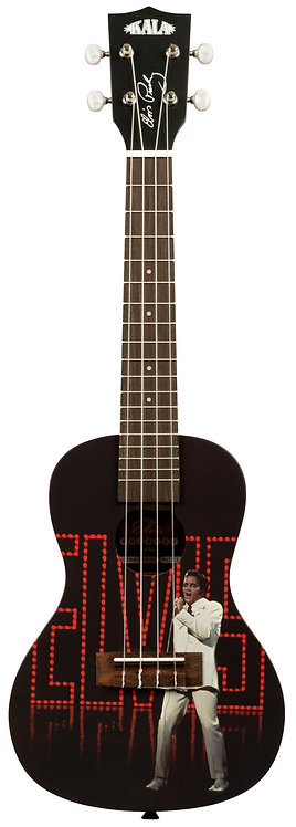 KALA - Kala Learn To Play Elvis Viva Las Vegas, Concert Ukulele Starter Kit