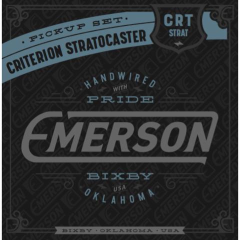 EMERSON - CRITERION STRATOCASTER PICKUP SET