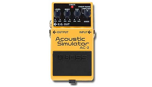 Boss AC-2 Acoustic Simulator - NOS