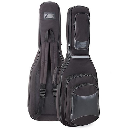 StefyLine Electric Bass Guitar Gig Bag, padding 30mm, Black