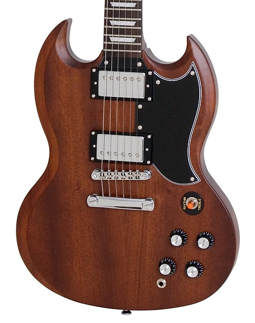 EPIPHONE SG G-400 FADED WORN BROWN