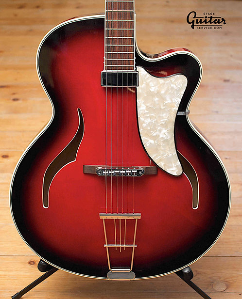 GLASSL THINLINE ARCHTOP - GERMANY EARLY 60's