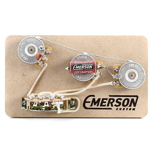 EMERSON BLENDER 5-WAY STRAT PREWIRED KIT 250K