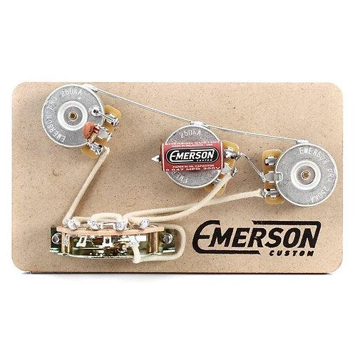 EMERSON BLENDER 5-WAY STRAT PREWIRED KIT 250K