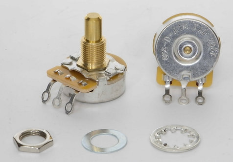 TAD CTS 1Meg Dimple (LOG) Potentiometer, Solid