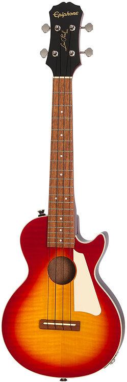 Epiphone Les Paul Tenor Ac/El Ukulele - Heritage Cherry Sunburst