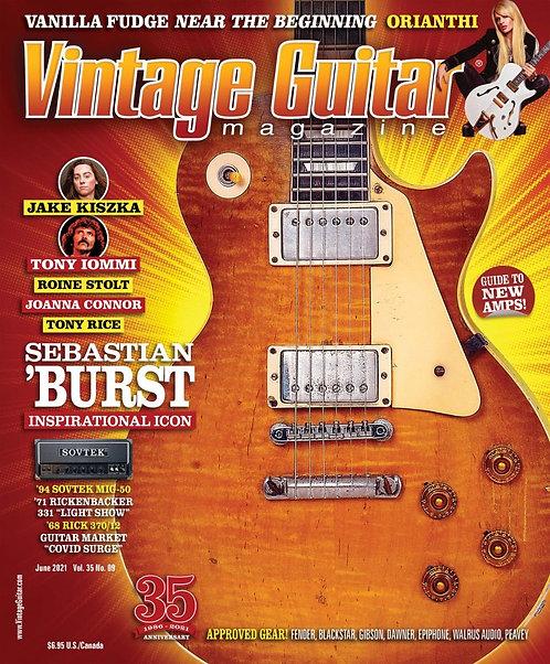 Vintage Guitar Magazin - June 2021