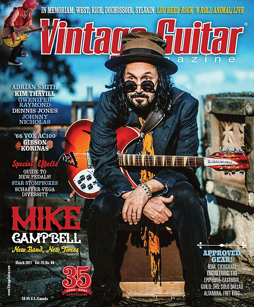 Vintage Guitar Magazin - March 2021