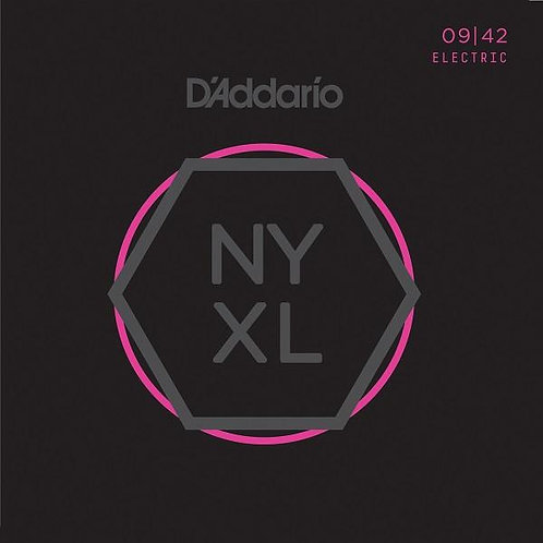 D'Addario New York XL Nickel Round Wound Electric Guitar - Super Light (09-42)