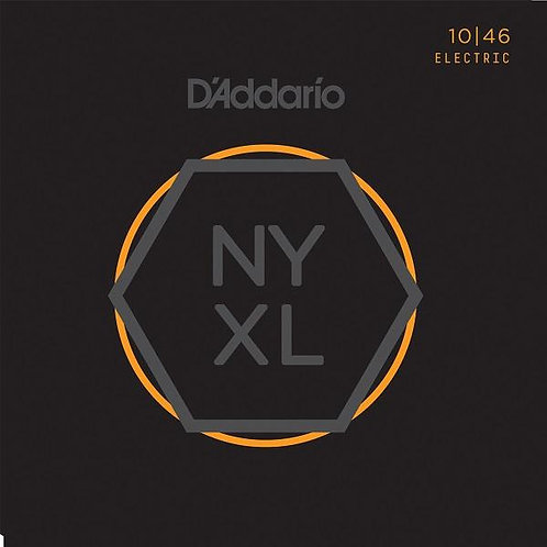 D'Addario New York XL Nickel Round Wound Electric Guitar - Regular Light (10-46)