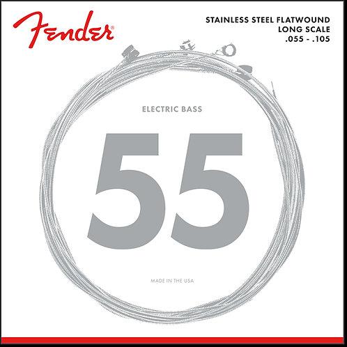 Fender Stainless Steel Flatwound 9050M (55-105)