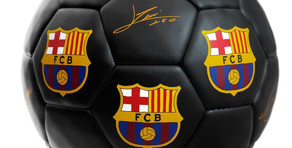 FCB Signed Ball (black)