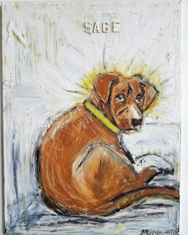 Oil Painting - Sage