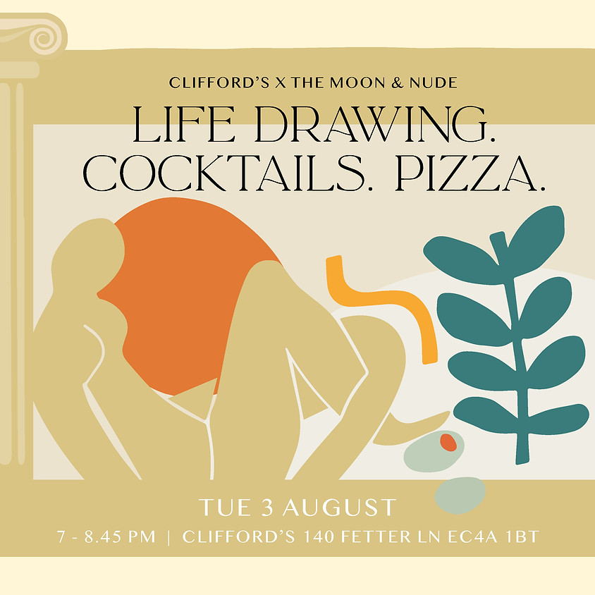 Life Drawing, Cocktails & Pizza