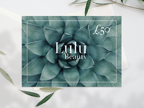Lulu Beauty Gift Voucher