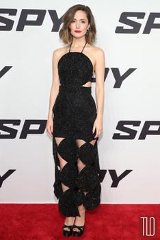 Actress Rose Byrne wearing Osman to the SPY world premiere, 2015