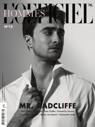 Mr Radcliffe for L'OFFICIEL HOMME