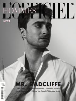 Mr Radcliffe for L'OFFICIEL HOMME
