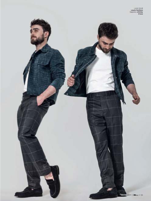 Daniel Radcliffe for GQ Brazil