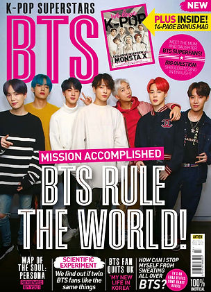 BTS fan magazine cover