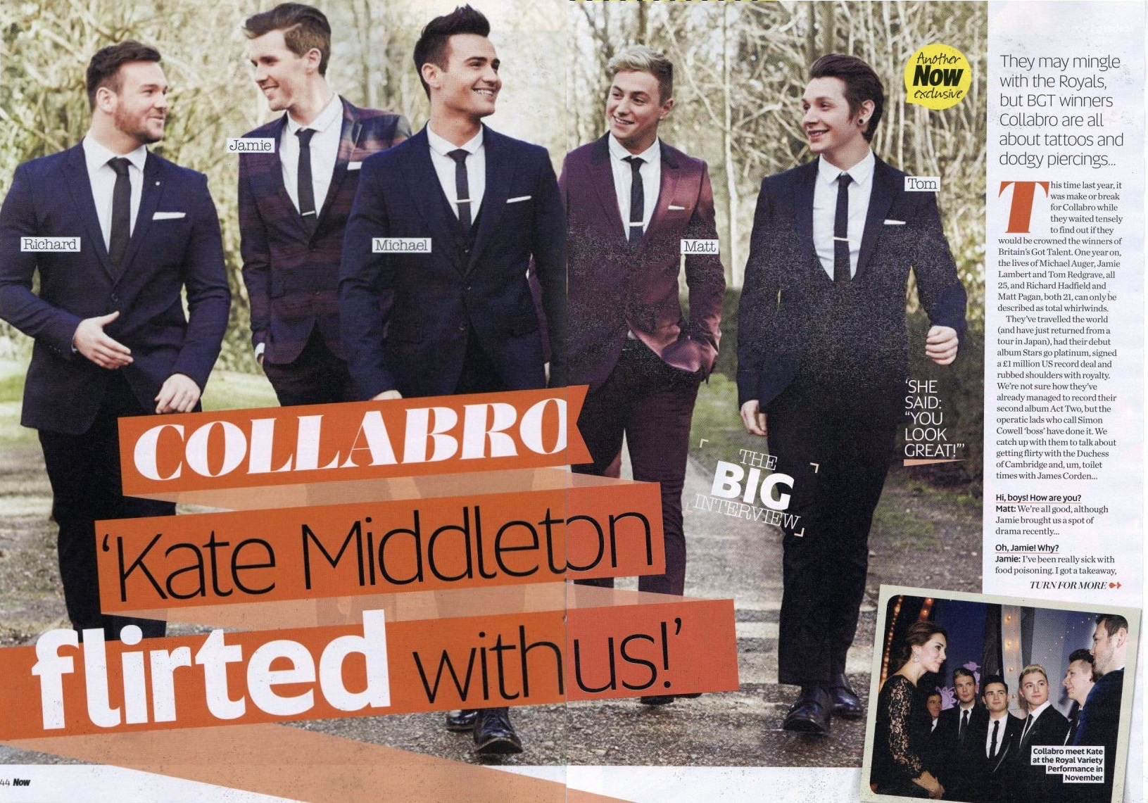 Collabro Album Artwork for Now Mag