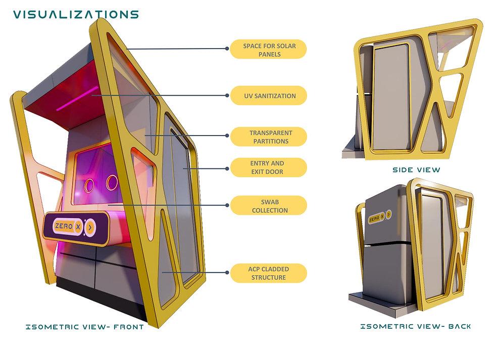 ZERO X - PORTABLE SWAB COLLECTION KIOSK