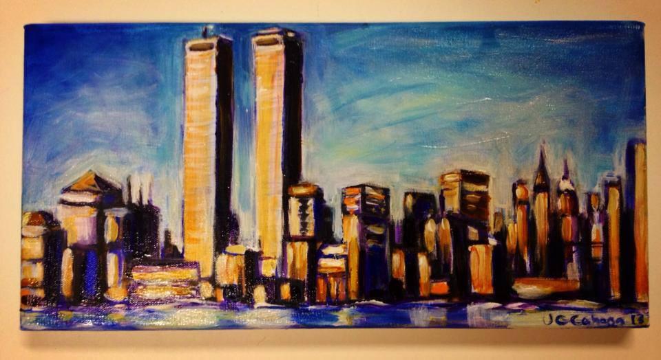 New York Skyline Pre 9/11