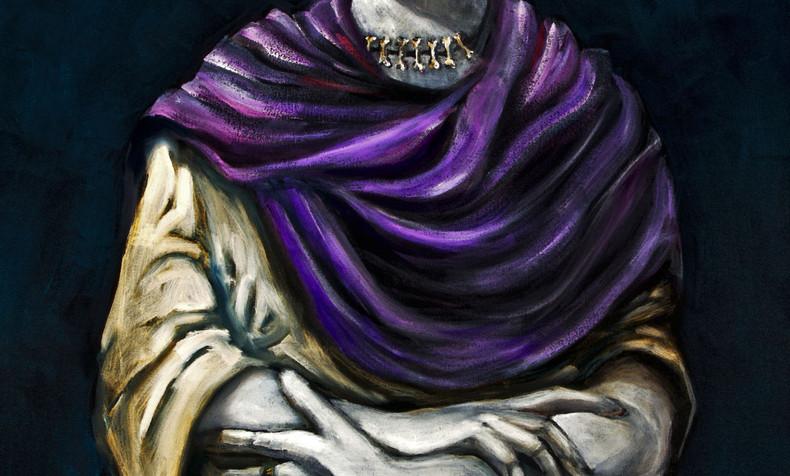 SOLD Frida Kahlo, Dia de Los Muertos