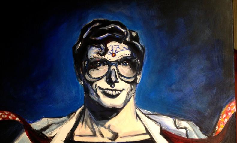 SOLD Superman, Dia de Los Muertos