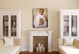 Gandhi's Sacred Heart