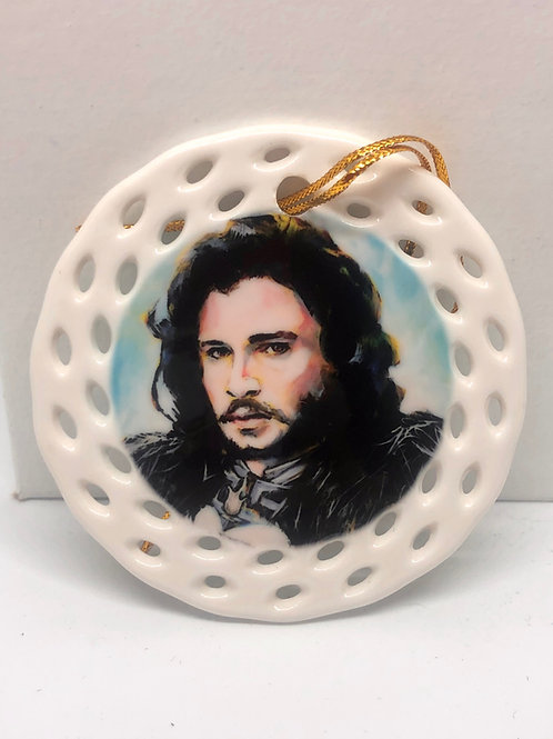 Ornament: Jon Snow