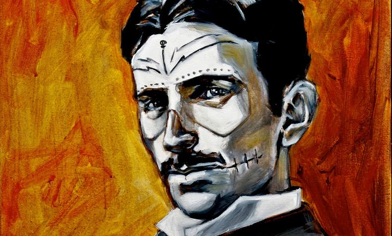 Nikola Tesla, Dia de Los Muertos