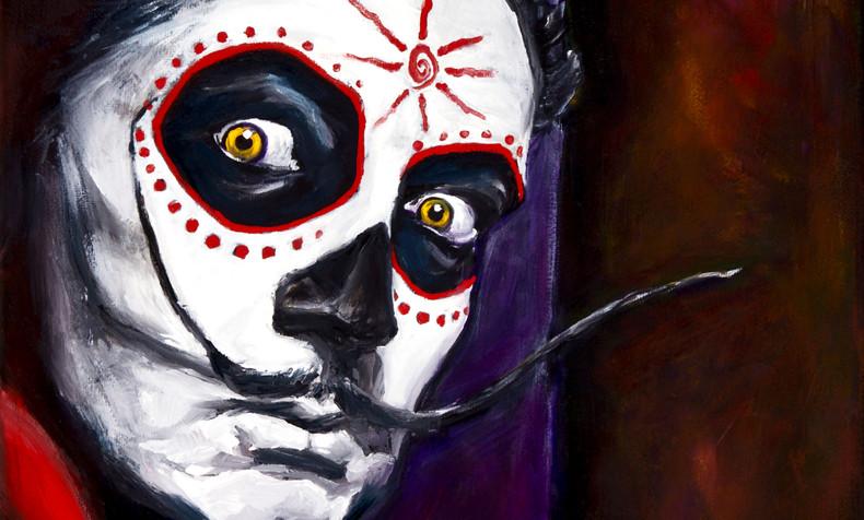 SOLD Salvador Dali, Dia de Los Muertos