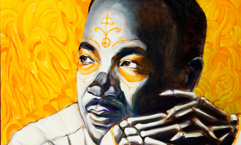 Martin Luther King, Dia de Los Muertos