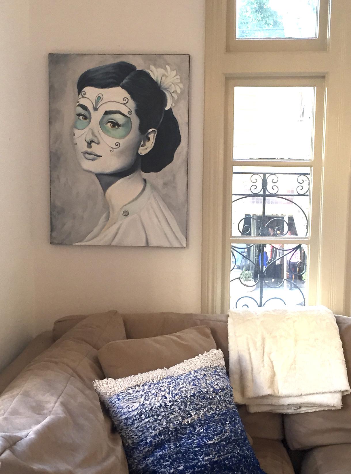 Audrey Hepburn, Dia de Los Muertos