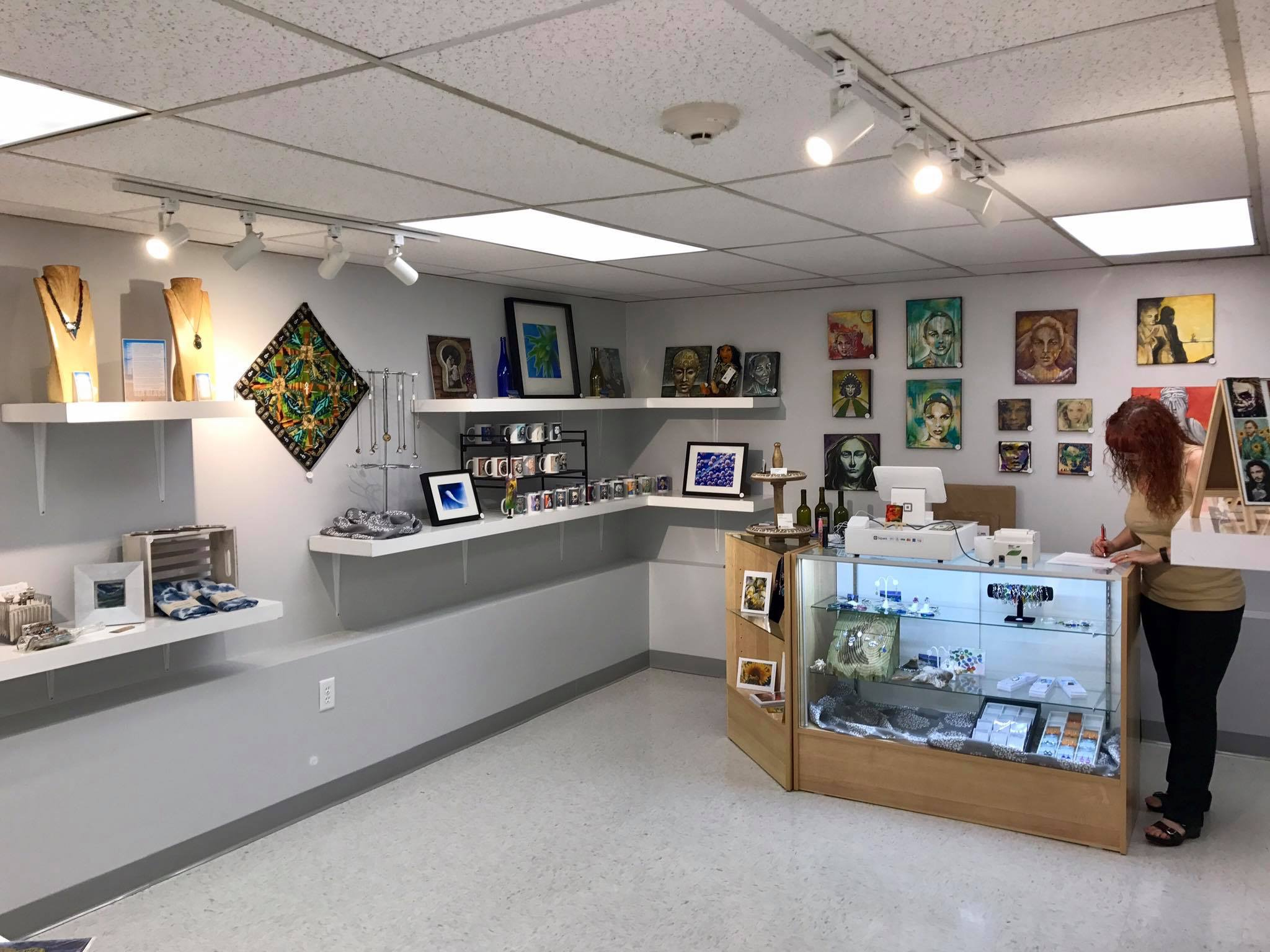 Gift Shop View, 2017