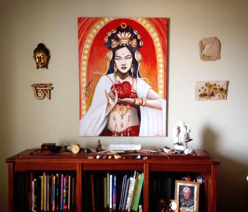 Quan Yin Altar