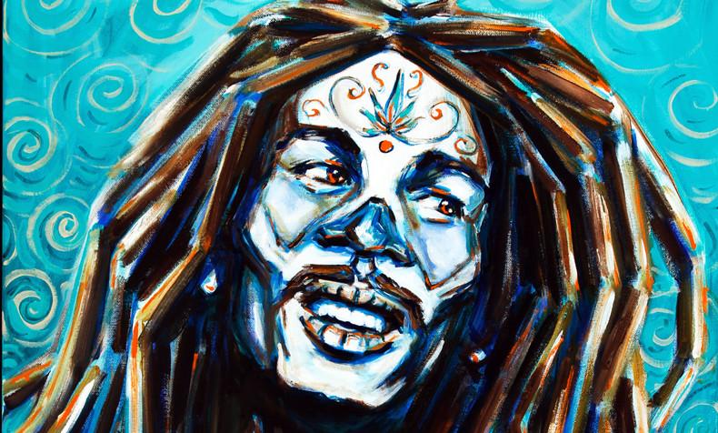 Bob Marley,  Dia de Los Muertos