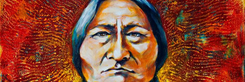 SOLD Sitting Bull's Sacred Heart