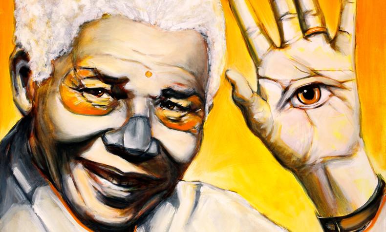 Nelson Mandela, Dia de Los Muertos