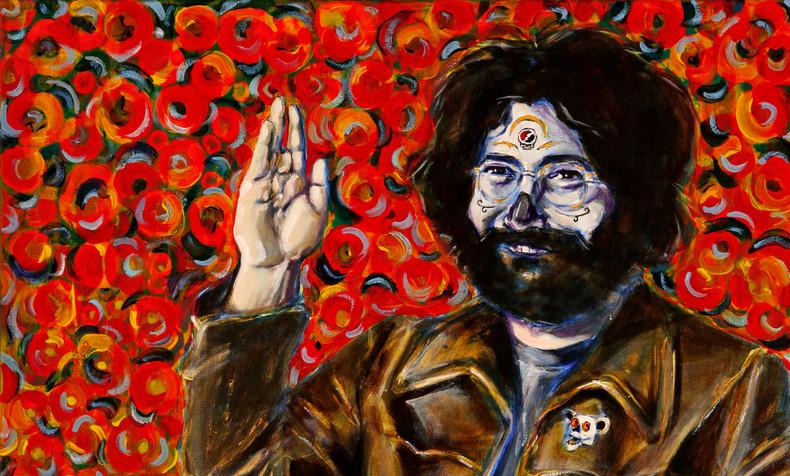 Jerry Garcia, Dia de Los Muertos